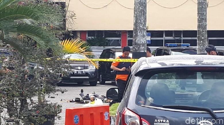 Polisi Belum Bisa Pastikan Jumlah Teroris Penyerang Mapolda Riau