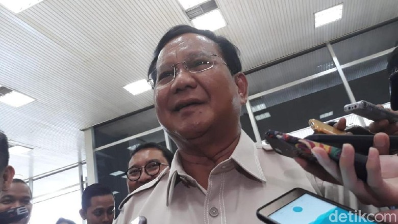 Prabowo: Kita Dukung Pemerintah dalam Penanggulangan Terorisme