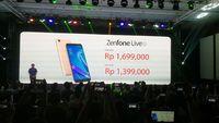 Zenfone Live (L1), Ponsel Layar Kekinian Harga Murah