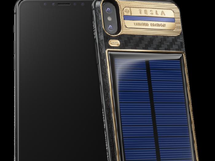 iPhone X buat Elon Musk. Foto: Caviar