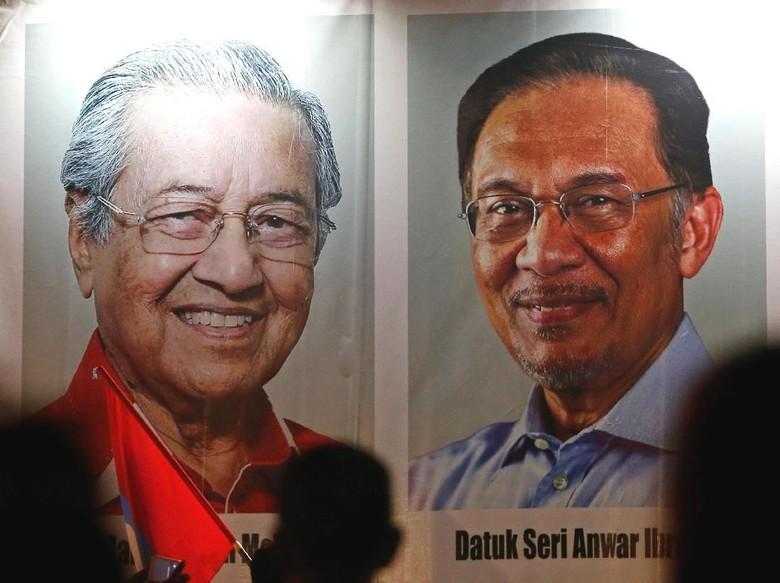 Mahathir Tunjuk Anwar Ibrahim Jadi Anggota Dewan Kepresidenan