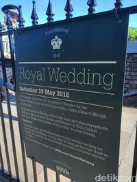 Sibuknya Windsor di H-2 Pernikahan Pangeran Harry-Meghan Markle