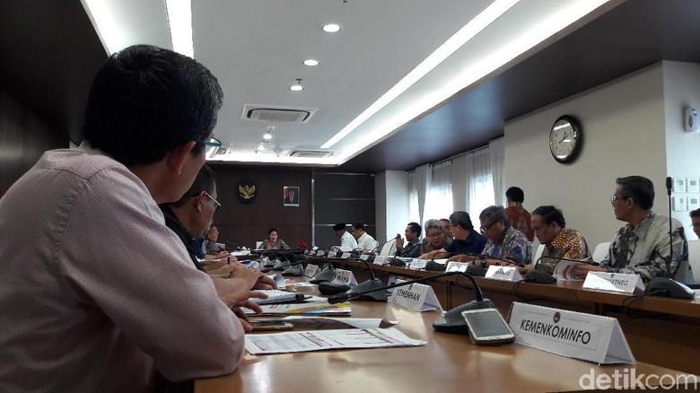 Menko PMK-Wakapolri Rapat Keamanan Asian Games