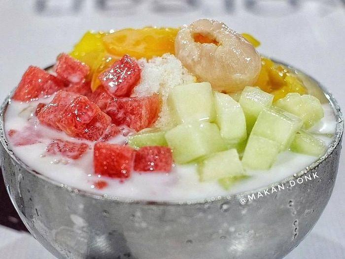 Es Buah Yang Manis Segar Mudah Dibuat Dengan Resep Ini