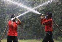 Antisipasi Kebakaran Hutan, Personel Damkar RAPP Patroli Tiap Hari