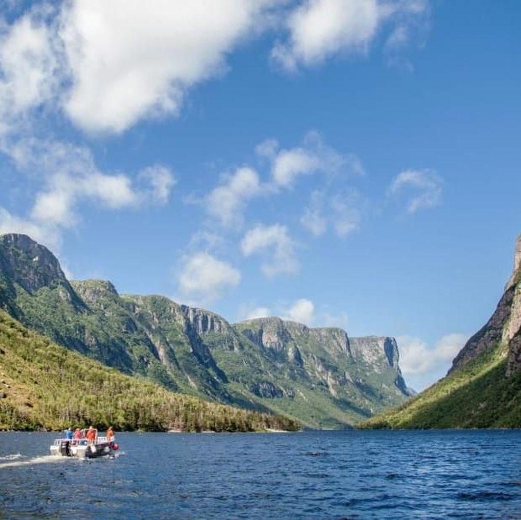Foto: Pulau Pertama Bermukimnya Viking di Amerika Utara