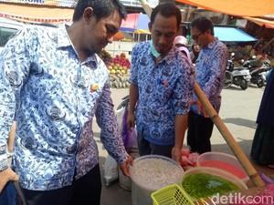 Razia Menu Takjil, Dinkes Makassar Temukan Makanan Berformalin