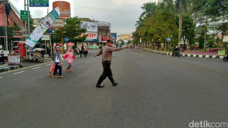 Pengamanan Ngabuburit, Polres Ciamis Terjunkan 100 Personel