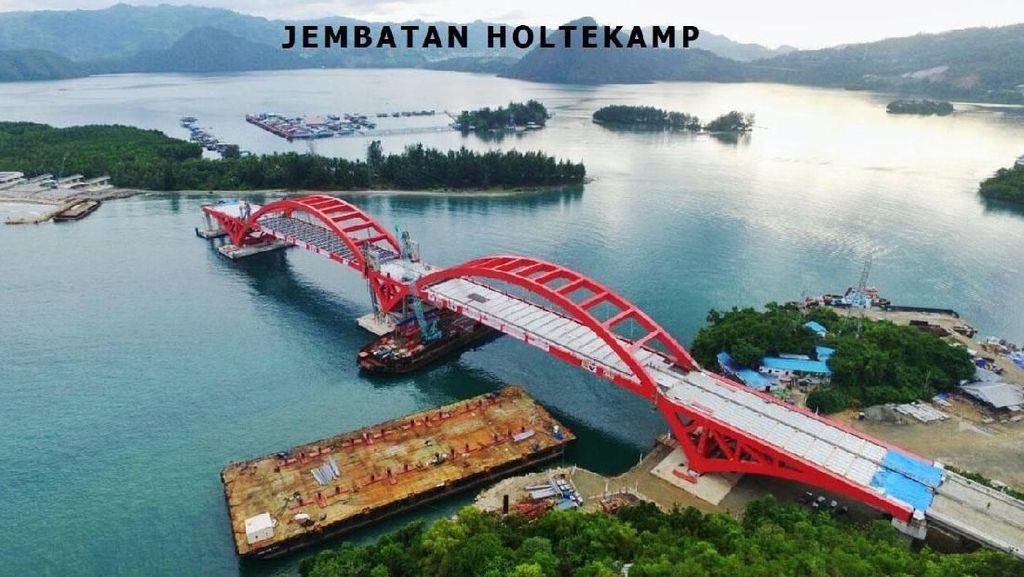 Jembatan Megah Dibangun di Jawa hingga Papua, Berapa Biayanya?