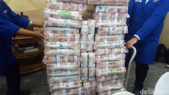 Ilustrasi setoran pajak/Foto: Zunita-detikcom