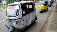 Bajaj ala Asian Games, Wara-wiri di Jalanan Ibu Kota