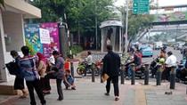 Perimeter Penjagaan di Mapolda Metro Diperluas, Jalan Gatsu Macet