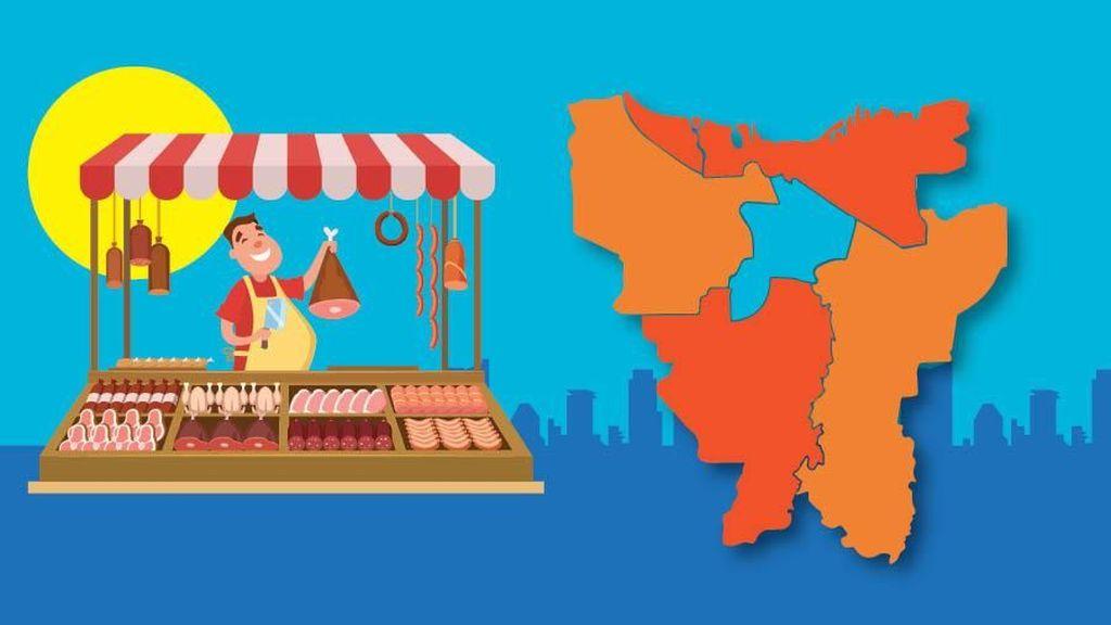 Mau Tahu Lokasi 44 Pasar Murah di Jakarta? Ini Rinciannya