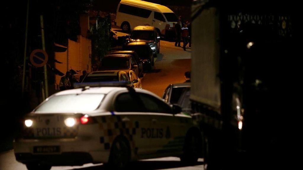 Rumah Najib Digeledah Polisi Malaysia, Begini Suasananya