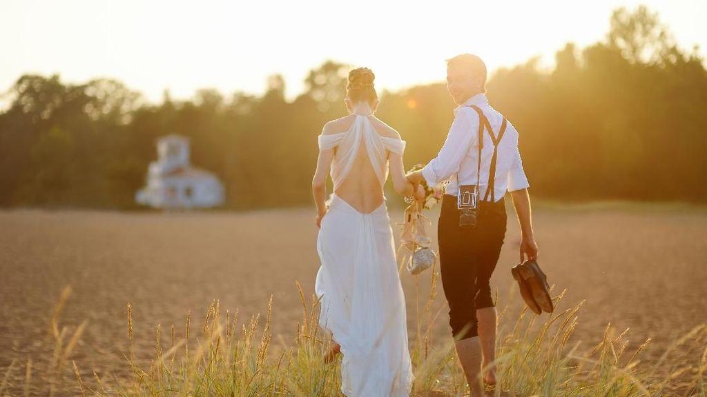 Viral, Janji Pernikahan Pengantin Wanita yang Bikin Malu Pasangannya