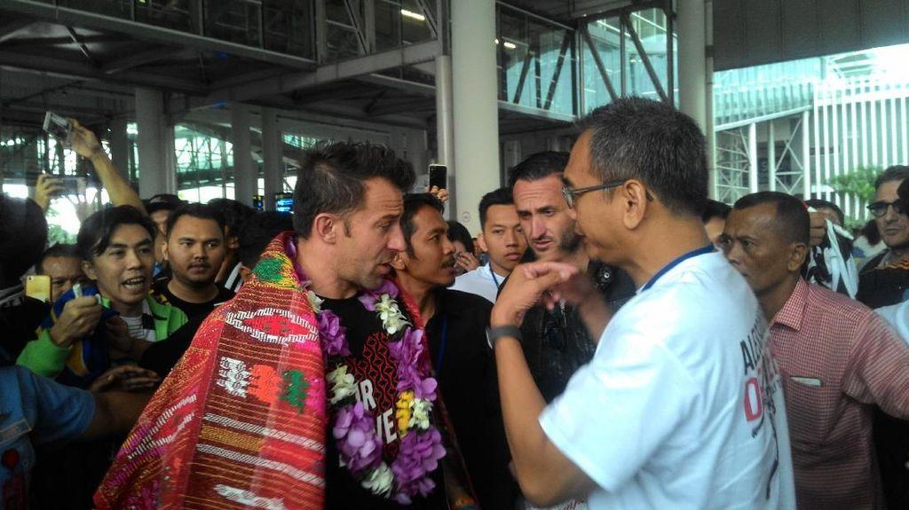 Dengar dari Radja Nainggolan, Del Piero Kini Datang Langsung ke Medan