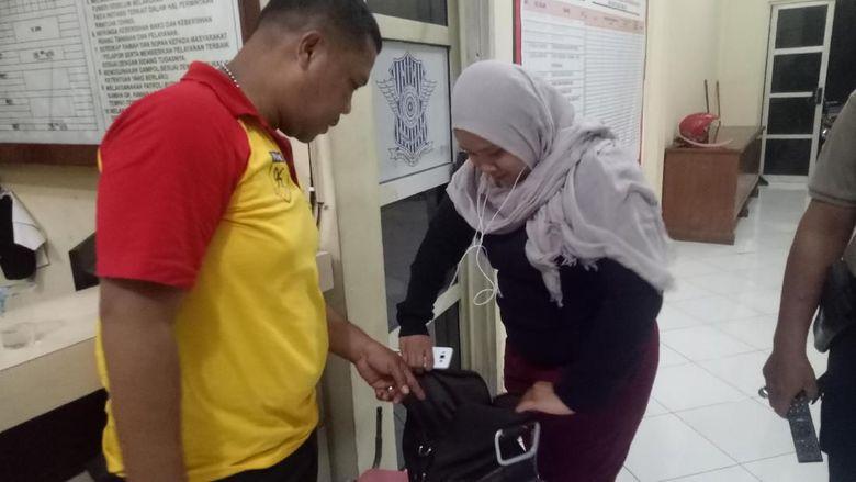 Cegah Aksi Teror, Kantor Polisi di Makassar Dipasangi Portal