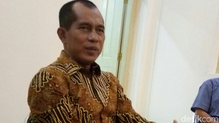 Ketua Komisi I DPR RI Abdul Kharis. Foto: Bayu Ardi Isnanto/detikcom
