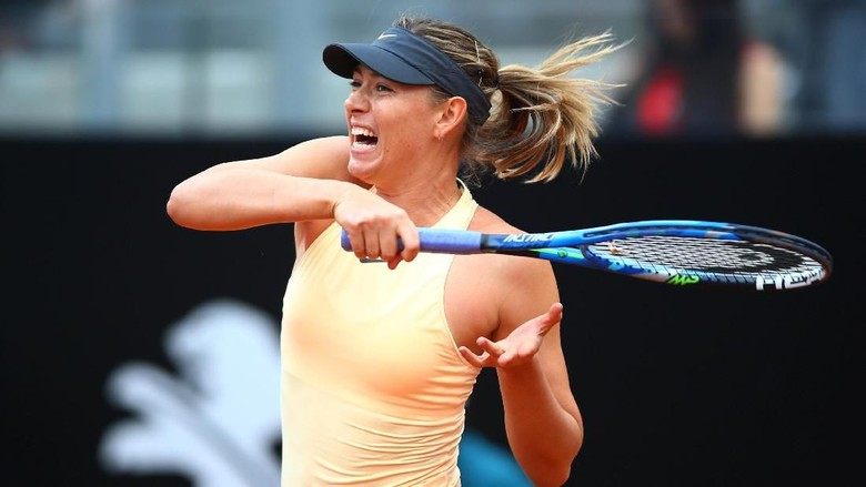Sharapova ke Babak 16 Besar Usai Bertarung Tiga Set