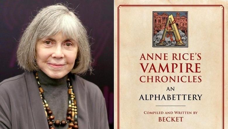 Anne Rice Lanjutkan Seri Vampire Chronicles dengan Buku Baru
