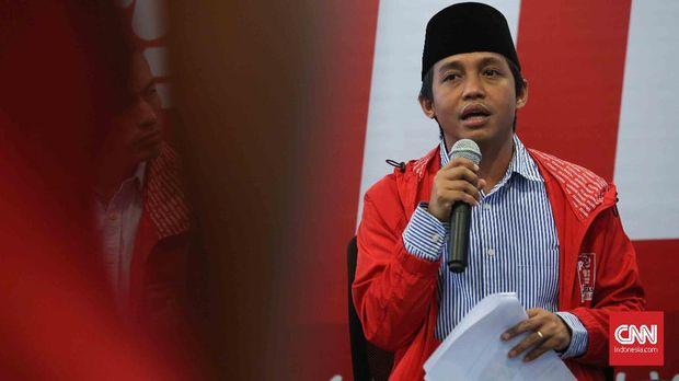 Sekjen Partai Solidaritas Indonesia (PSI) Raja Juli Antoni.