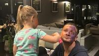 Jeremy Renner kerap mengunggah momen-momen bersama putrinya yang berusia enam tahun itu. Dok.Instagram/renner4real