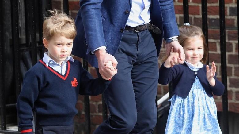 Sst, Ini Peran George dan Charlotte di Pernikahan Pangeran Harry/ Foto: getty images