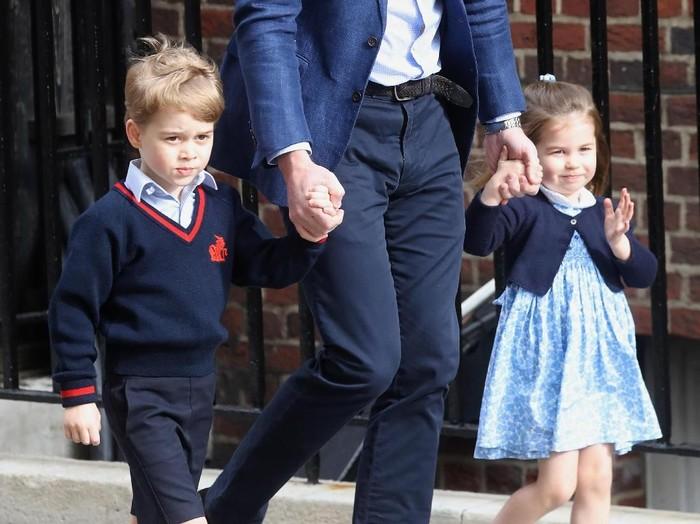 Pangeran george dan putri charlotte