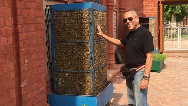 Cerita AC Jerami yang Menyejukkan Puasa di India