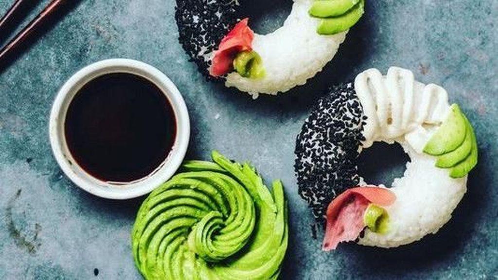 Donat Sushi hingga Sushi Piramida, Sushi Cantik yang Hits Tahun 2018