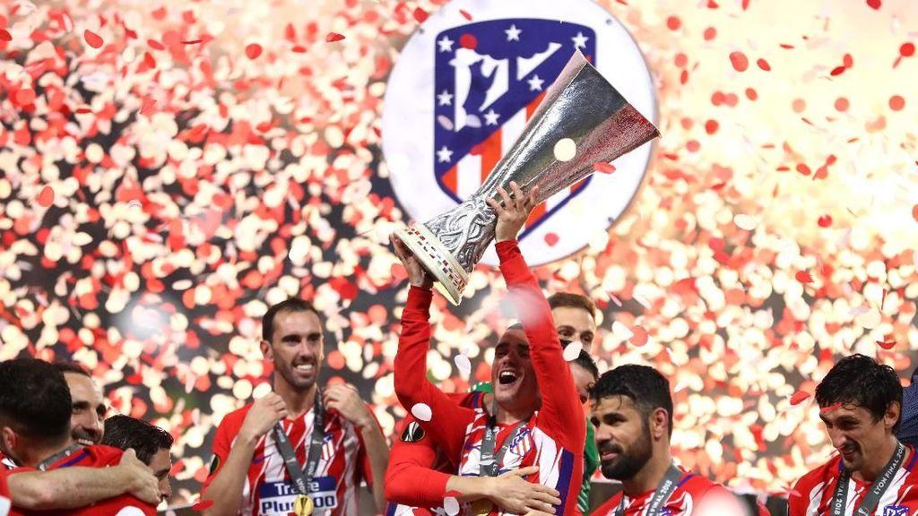 Tumpah Ruah! Kemeriahan Parade Juara Liga Europa Atletico Madrid