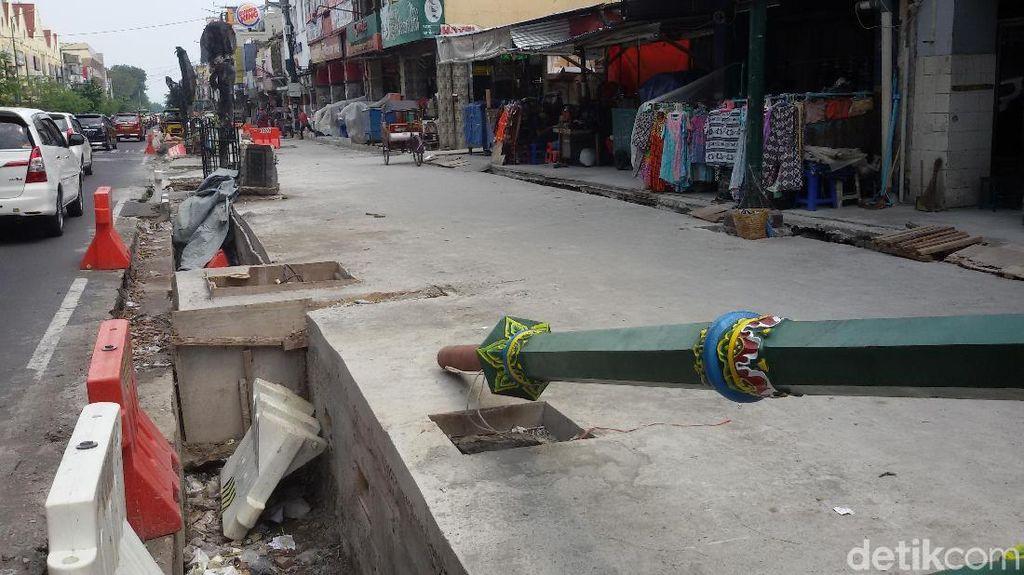 Revitalisasi Sisi Barat Malioboro Baru Rampung 35%
