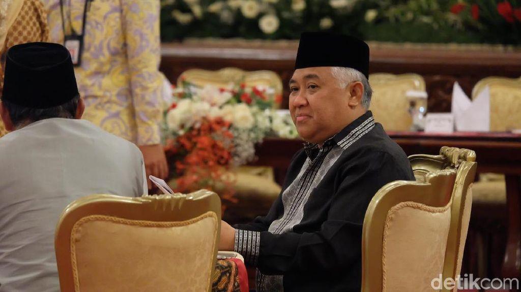 Din Syamsuddin Kritik Pemerintah: Larang Salat di Masjid Tapi Bandara Numpuk