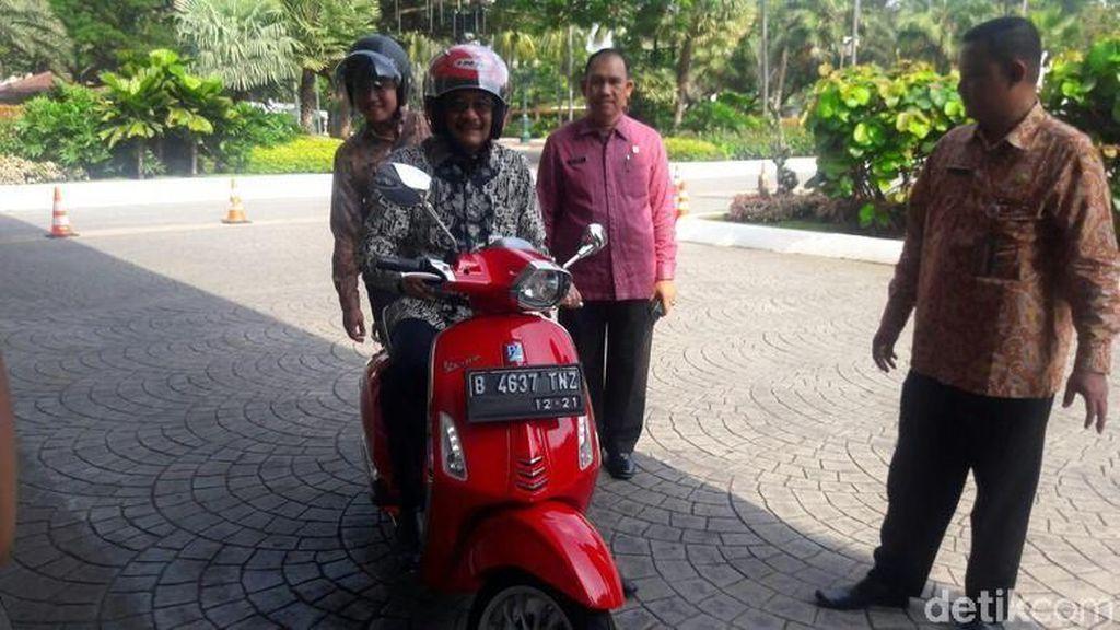 Buat Djarot, Berkendara saat Puasa di Jakarta Ujian Sebenarnya