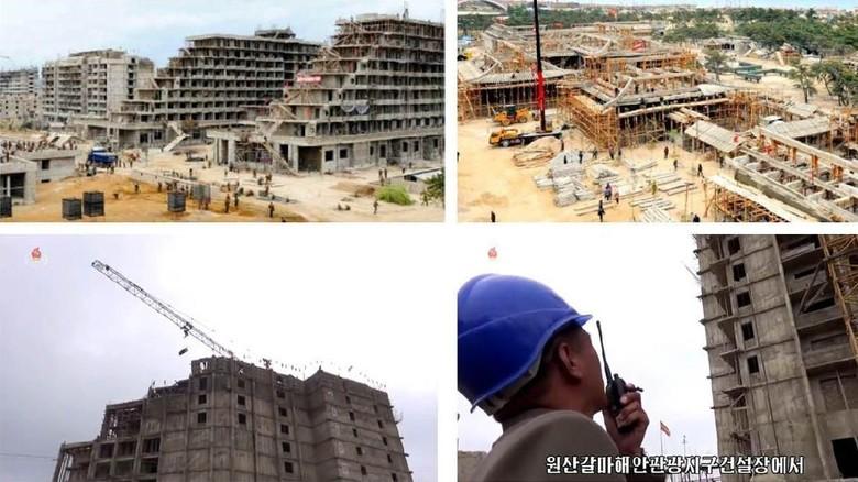 Kawasan resort mewah yang sedang dibangun Korea Utara (NK News)