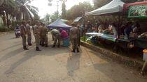 Jualan di Bahu Jalan GDC, Lapak Takjil Dipindahkan Satpol PP
