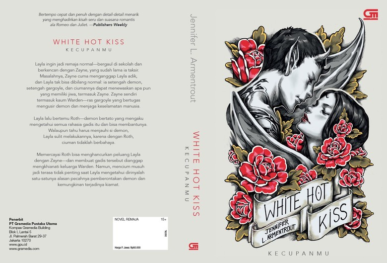 Novel White Hot Kiss Jennifer L.Armentrout Terbit dalam Bahasa Indonesia