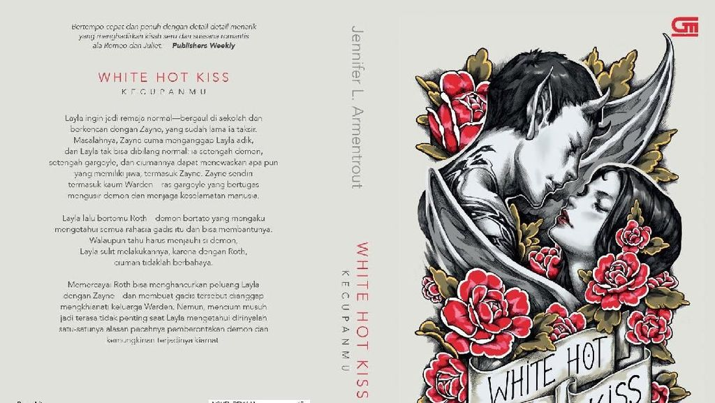 Novel White Hot Kiss Jennifer L.Armentrout Terbit dalam Bahasa Indonesia