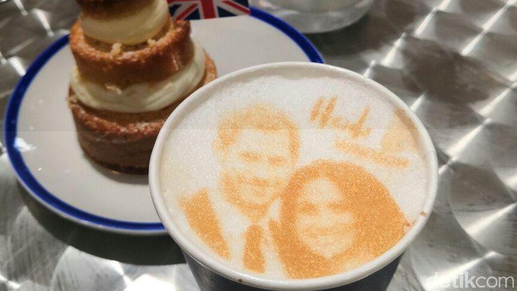 Wah! Ada Cappuccino Berwajah Pangeran Harry dan Meghan Markle