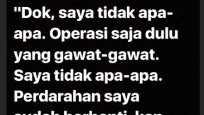 Viral kisah dokter yang tangani korban bom gereja Surabaya. Foto: Instagram/smharani