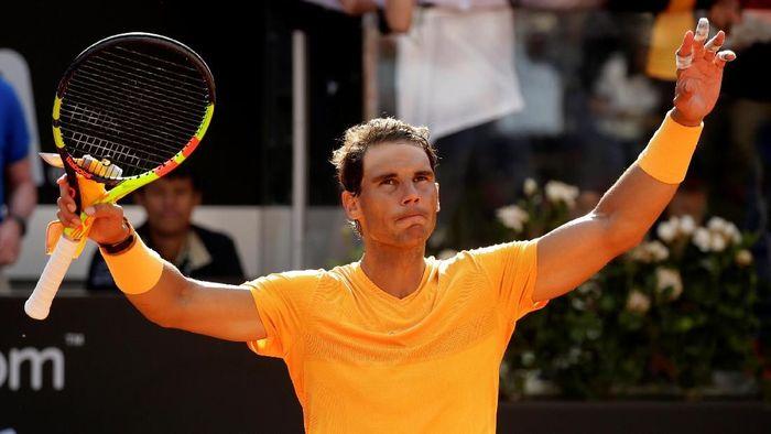 Rafael Nadal lolos ke perempatfinal Italia Terbuka usai mengalahkan Denis Shapovalov (Foto: Max Rossi/Reuters)
