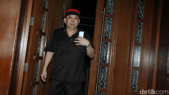Direktur Utama PT Sawit Golden Prima (SGP) Hery Susanto Gun alias Abun menjalani sidang vonis di Pengadilan Tipikor, Jakarta, Jumat (18/5/2018).
