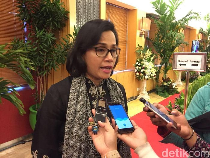Menteri Keuangan Sri Mulyani Indrawati/Foto: Sylke Febrina Laucereno/detikFinance