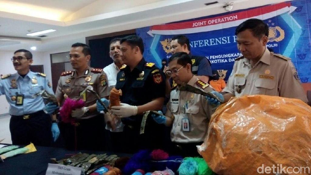 Bea-Cukai Bandara Soetta Gagalkan Penyelundupan Sabu 1 Kg