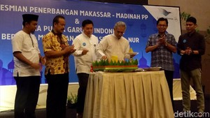 Garuda Indonesia Buka Rute Makassar-Madinah