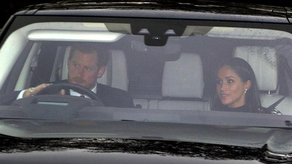 Naik Range Rover, Harry dan Meghan datang ke Gladi Bersih Pernikahan