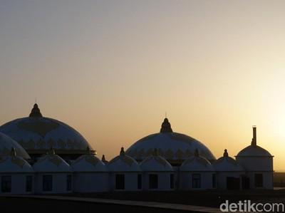 Foto: Sunset Terbaik di Pedalaman Mongolia