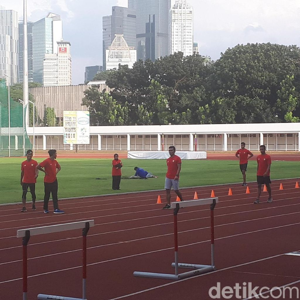 Puasa, Tim Estafet Putra Tetap Berlatih di Stadion Madya