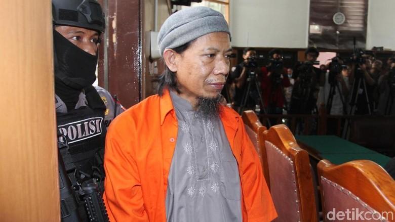 Jadi Otak Rentetan Teror Bom, Aman Abdurrahman Dituntut Hukuman Mati