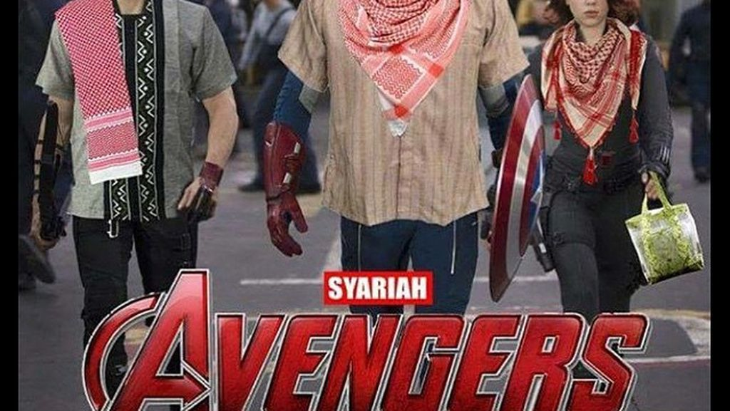 Jika Superhero Menjalankan Ibadah Puasa